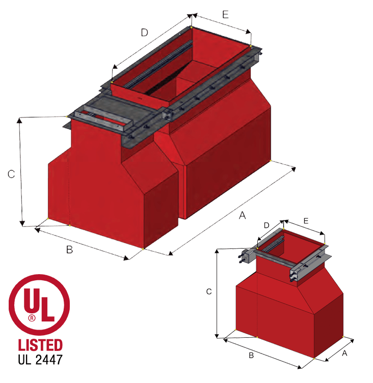 UDC – B1000/B7000 Combo Fuel/DEF containment