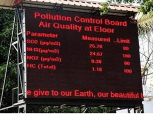 Environment Display Board