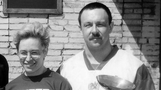 Евгений Белецкий и Ирина Зиновьева