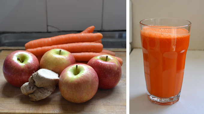 Морковь, Яблоки и Имбирь