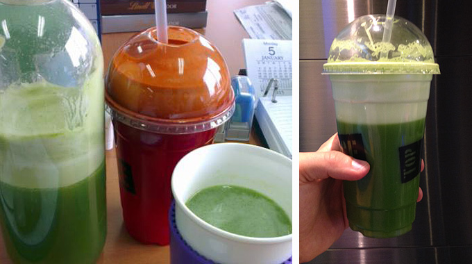 Зелёный обед