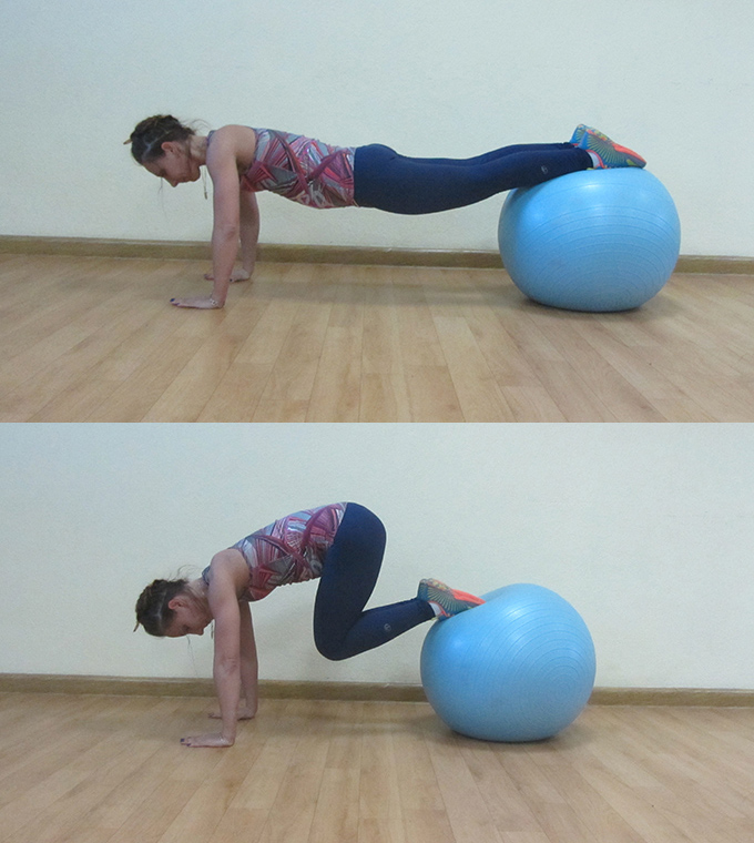 core and ball