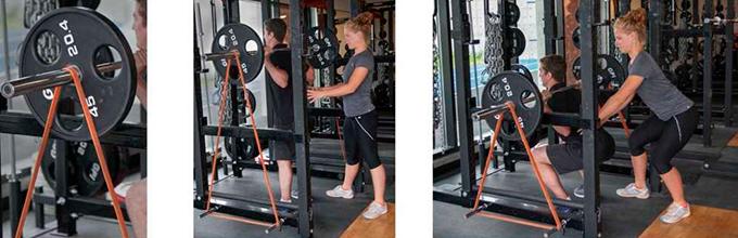 тренировки с цепями и резиной