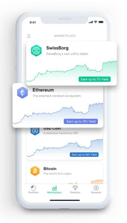 SwissBorg app for personal finance - blockchainmarket.eu