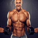 Ripped Muscles with Weights
