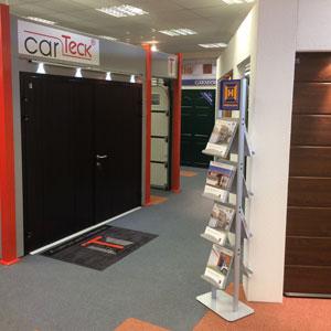Cherwell Doors showroom