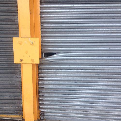 Industrial door repair