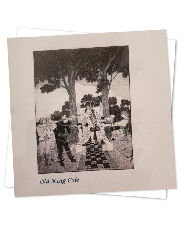 Greetings Card - Old King Cole