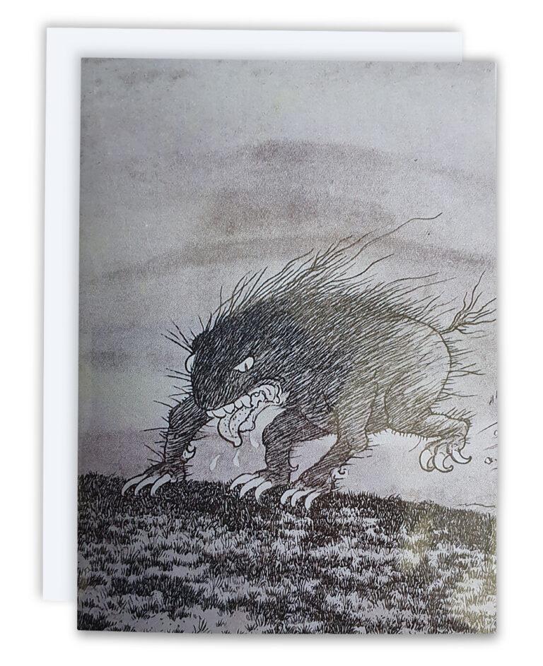 Bogey Beasts Card –Snaitsh