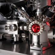 Photo of J105 SIMS analysis and prep chambers