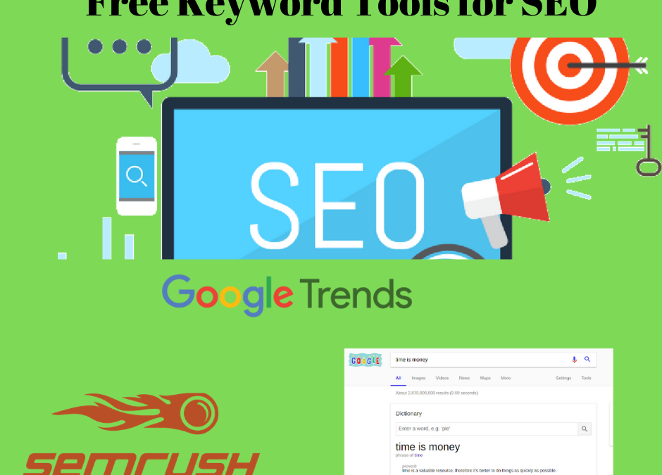 3 free keyword tools for your SEO efforts