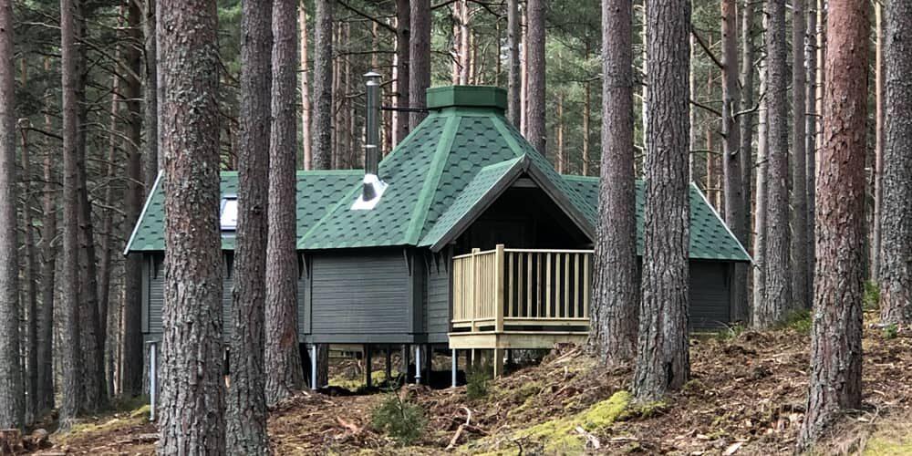 Log Cabins, Cairngorms