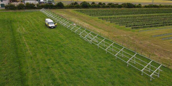 50kw solar pv foundations scotland