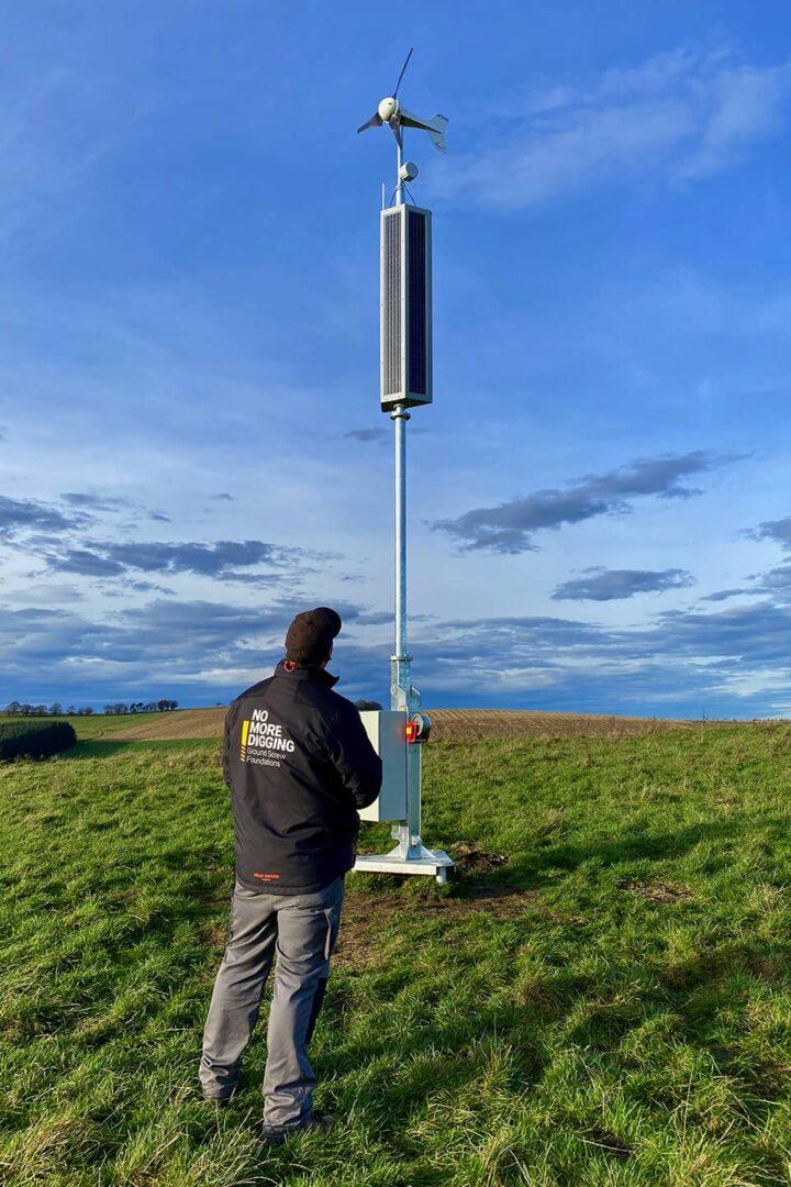 RADIX base station solar and wireless broadband