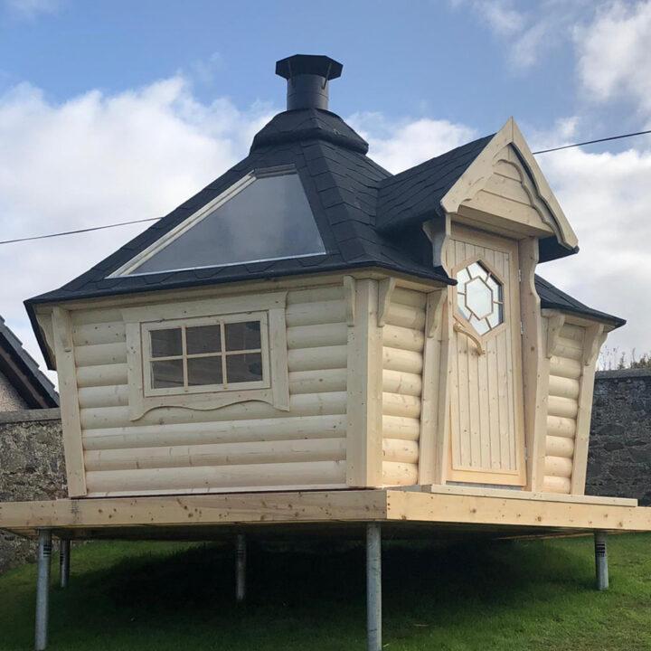 bbq grill cabin