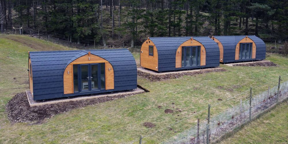 Holiday Glamping Pods, Angus Glens