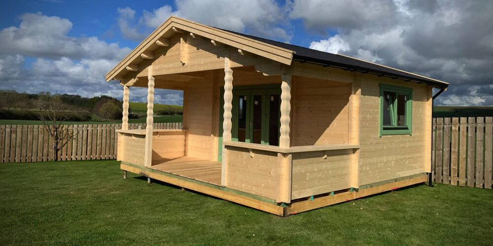 Log Cabin & Porch, Aberdeenshire
