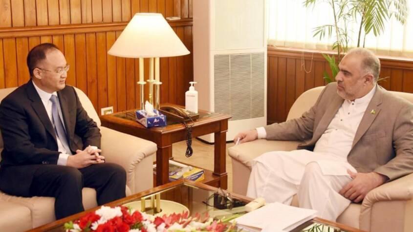 China and Pakistan to diversify CPEC portfolio: Chinese envoy