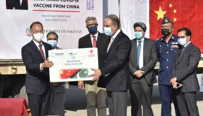 Pakistan expresses gratitude to President Xi for gifting COVID vaccines