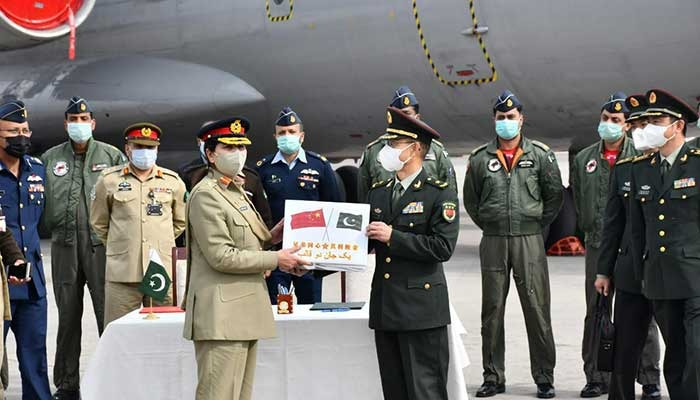 China donates vaccines to Pak army on a priority basis