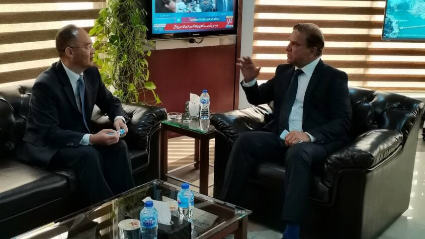 Chinese assistance critical in the completion of WAPDA projects: Chairman Wapda