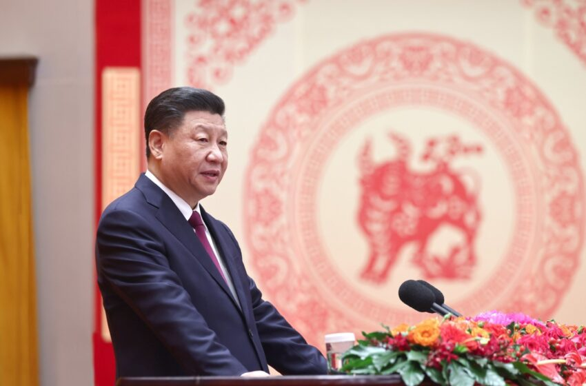 Xi highlights new tasks in new year