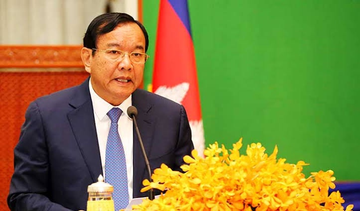 Cambodian FM thanks China for help during pandemic