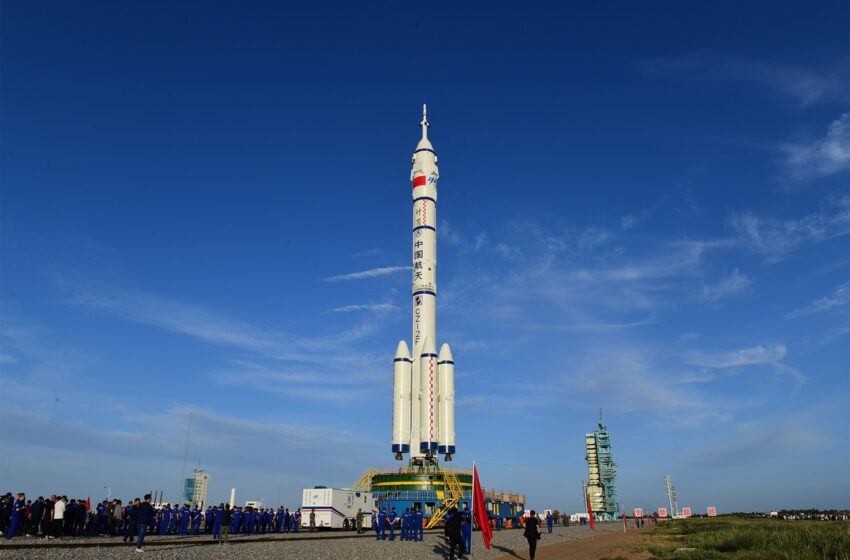 China to send 3 astronauts to space station