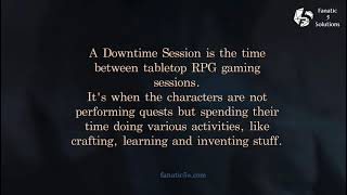 How to create a Downtime Session