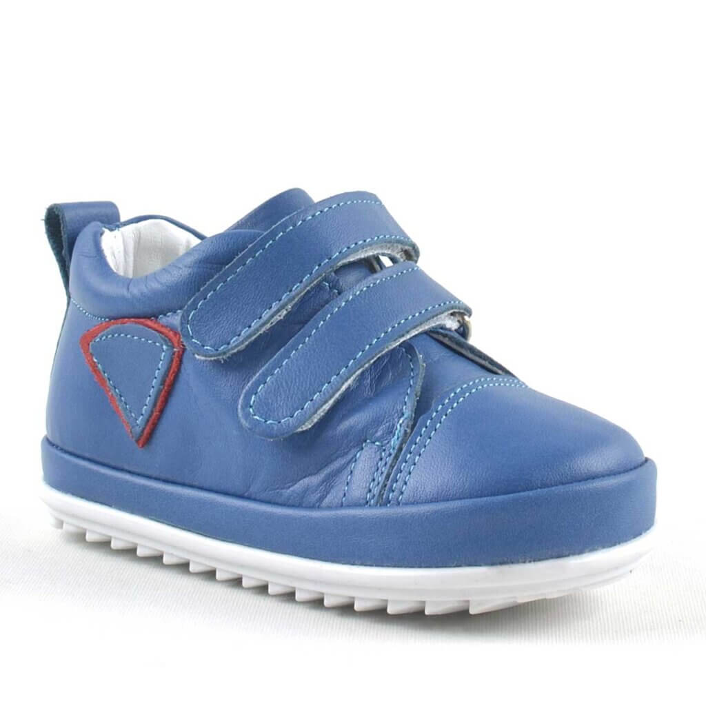 Rakerplus Scrat Genuine Leather First Step Toddler Baby Shoes - Blue
