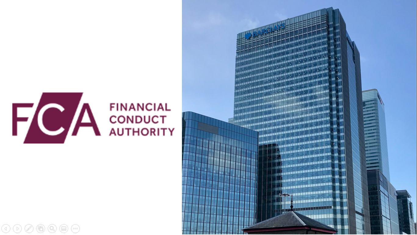 Barclays Fined by FCA