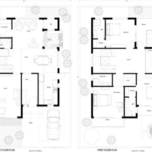 40X60-South-Facing-3-bedroom-house-design-2700-Sft-duplex-house-design-house-plan-as-per-vastu-indiahousedesign