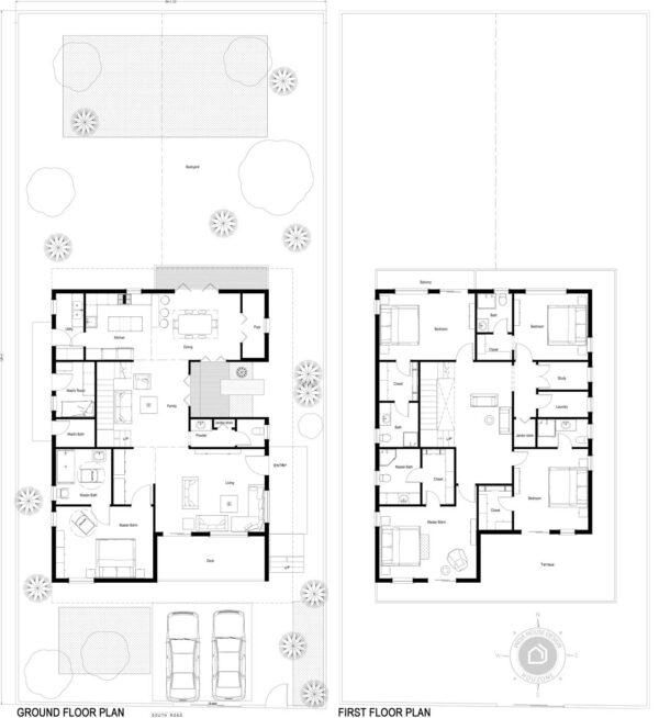 56x125-South-facing-5-bedroom-luxury-house-design-5bhk-5000Sft-duplex-house-plan-as-per-vastu-order-online-indiahousedesign