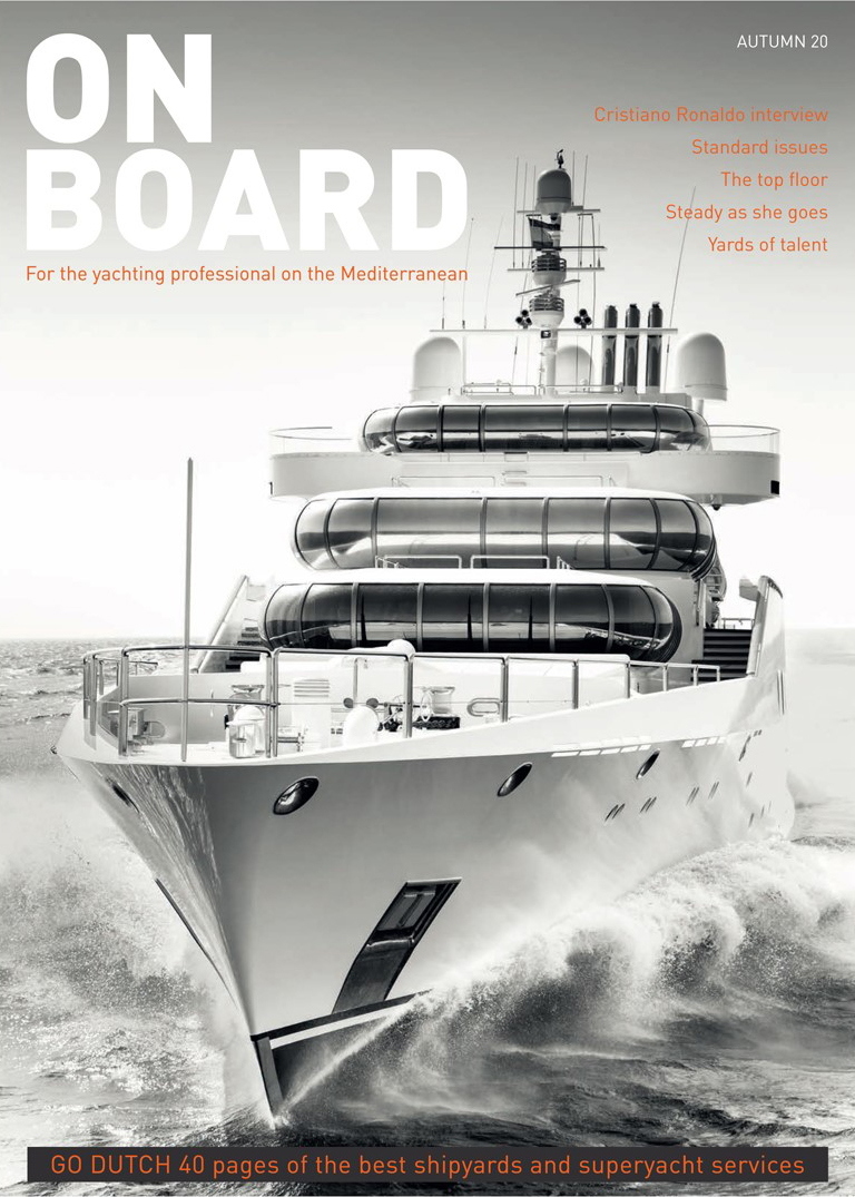 Onboard Magazine cover