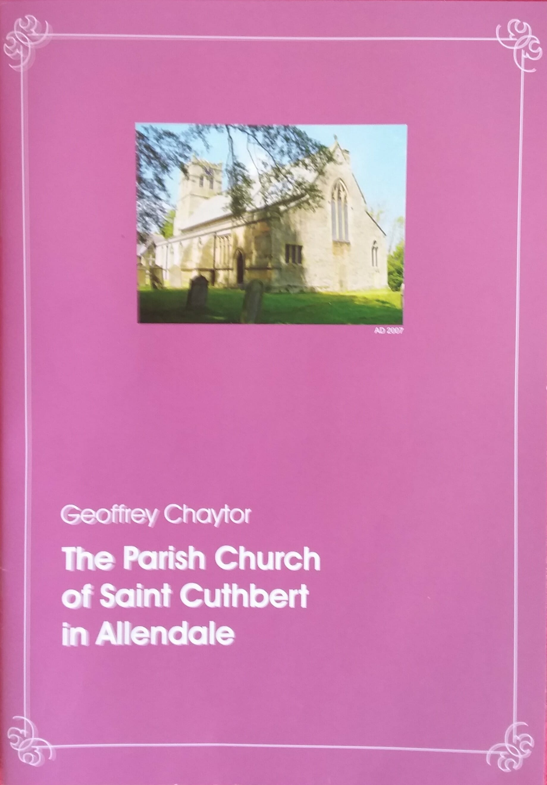 St Cuthbert's History Book