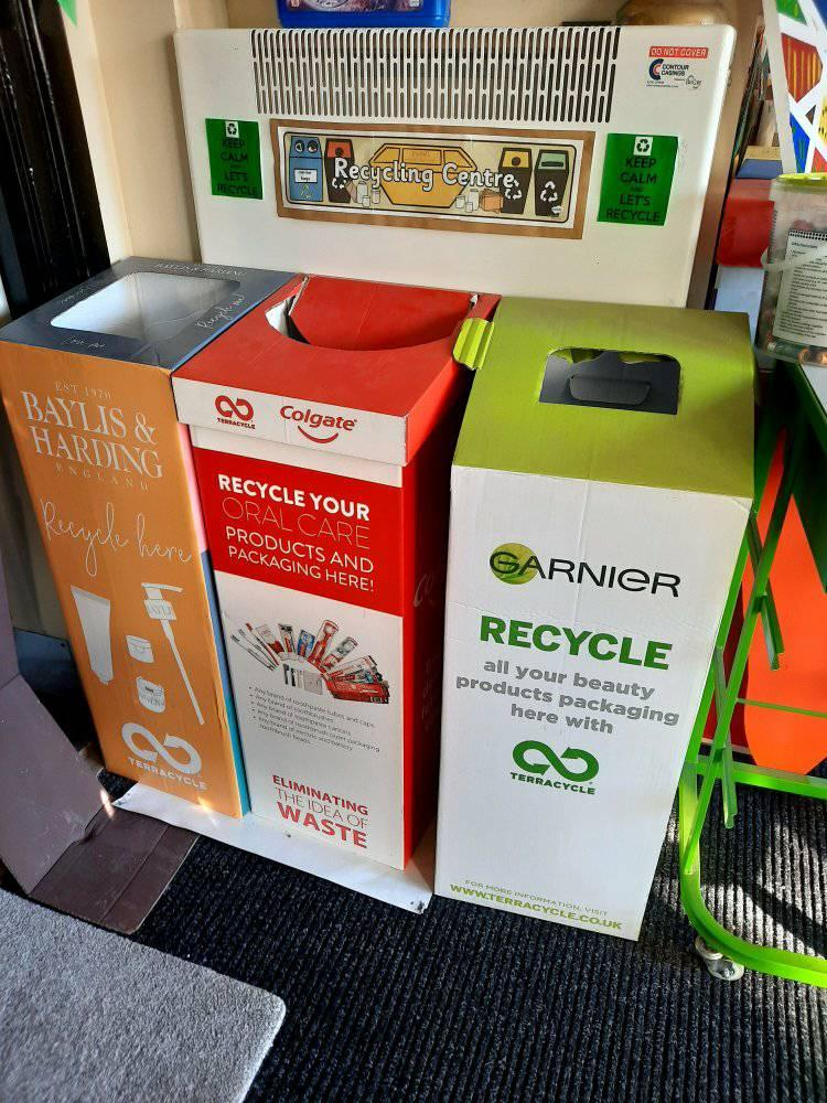 Recycling Boxes at APS