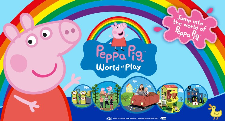 Peppa Pig World of Play – A project with Merlin Entertainments