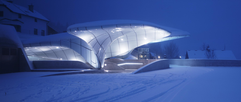 Nordpark Railway Stations (Hungerburg Station)_Innsbruck_photo Werner Huthmacher