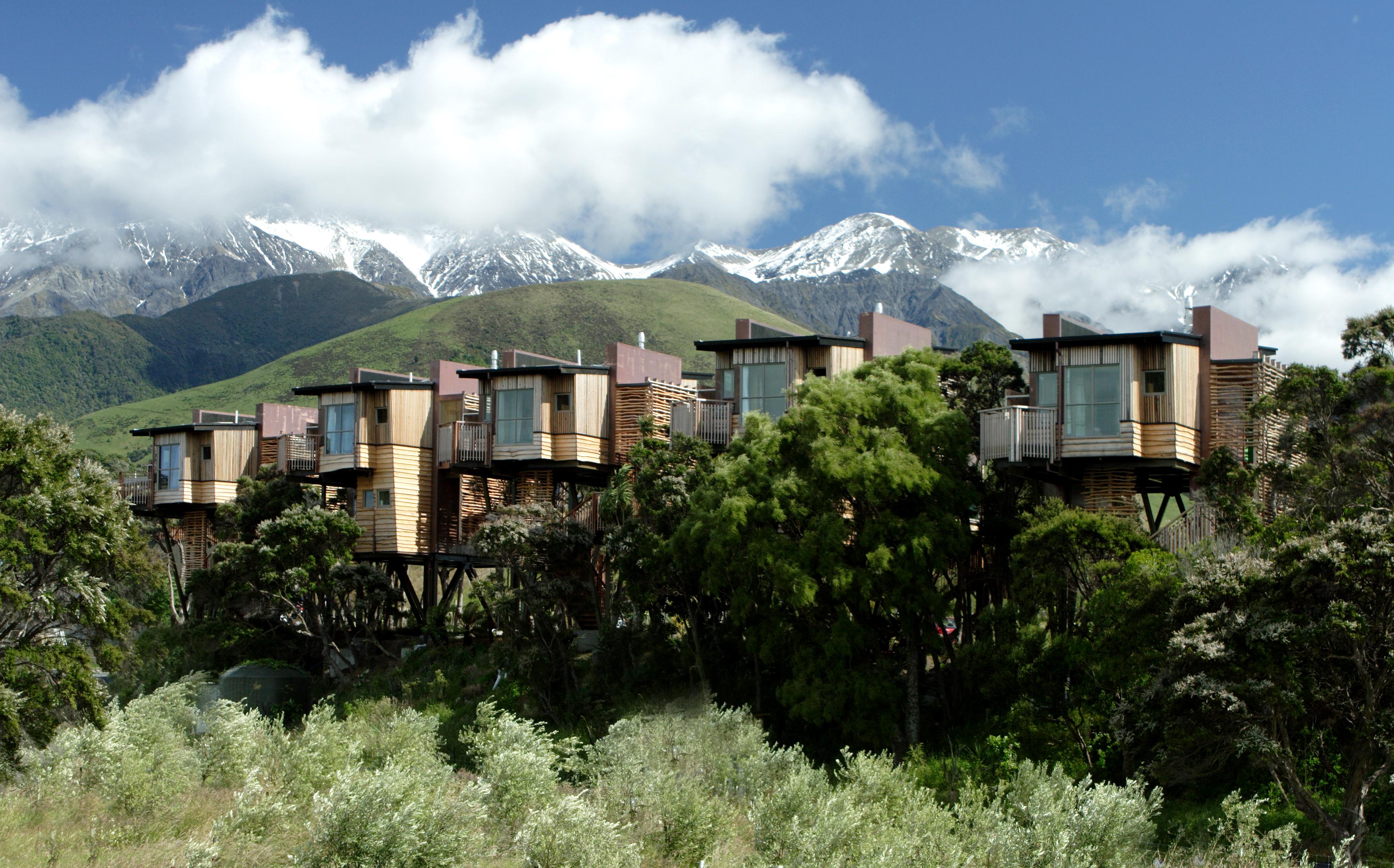 An unusual hotel room – Hapuku Lodge, New Zealand