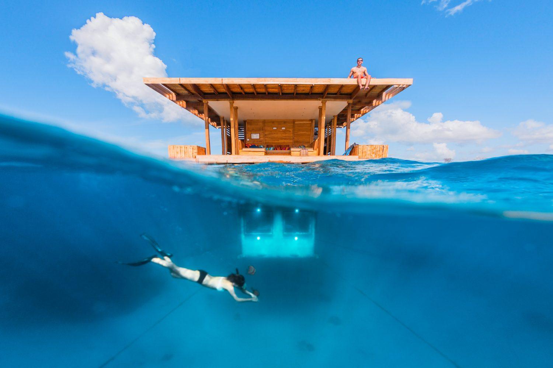 An unusual hotel room – Manta Resort Pemba, Tanzania