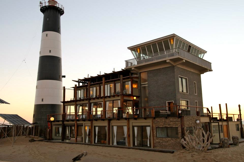 An unusual hotel room – Pelican Point, Namibia