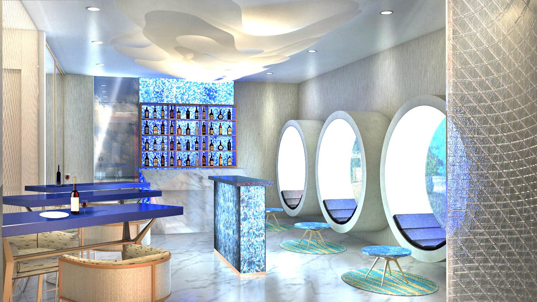 M6m underwater restaurant Maldives