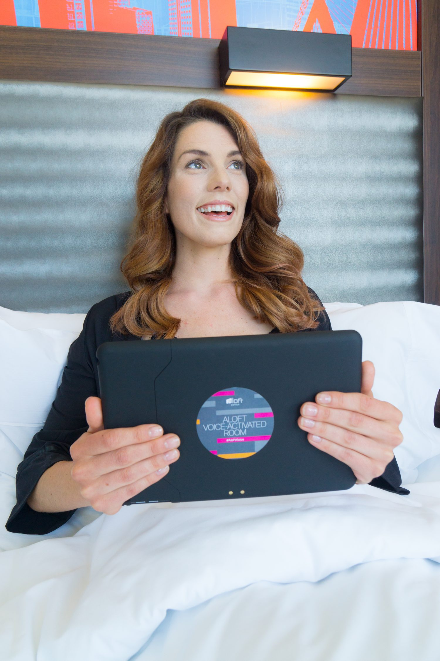 Aloft voice-activated hotel room