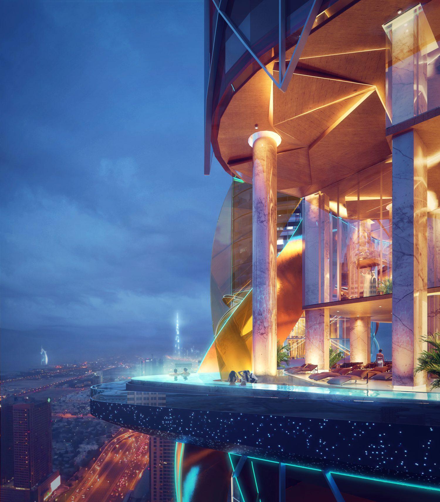 Rosemont Dubai Sky pool