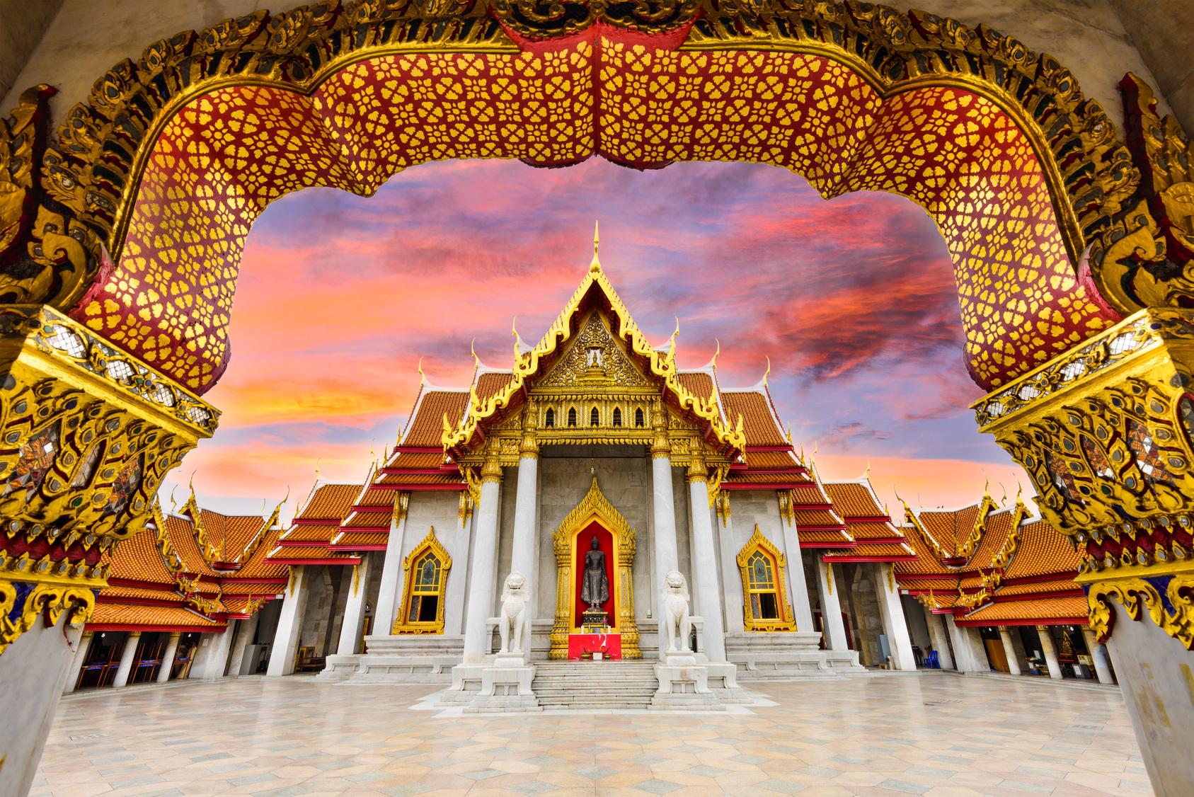 Bangkok tourist spending