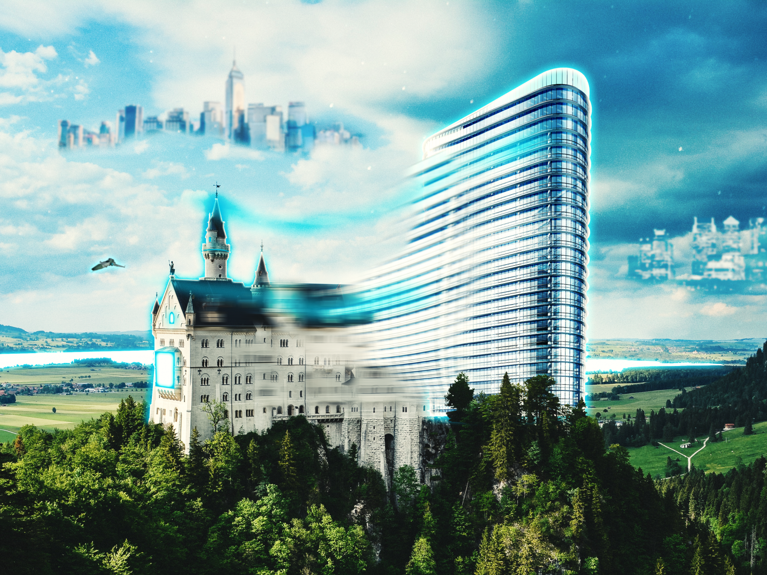 Morphing hotel of the future