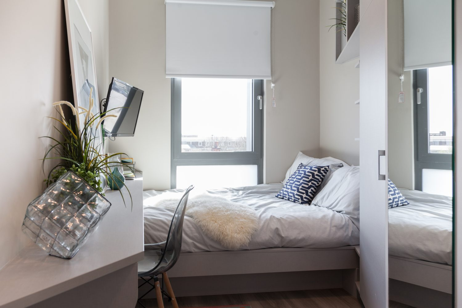 Studio apartment co-living at the Collective Old Oak