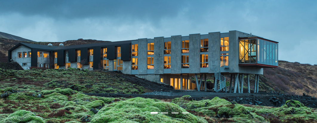 Remote hotels, Ion, Iceland