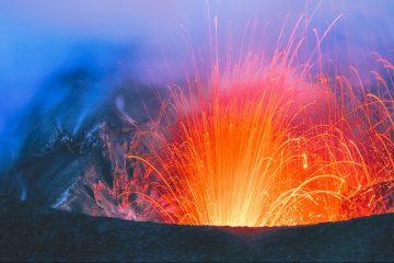 Extreme travel volcano