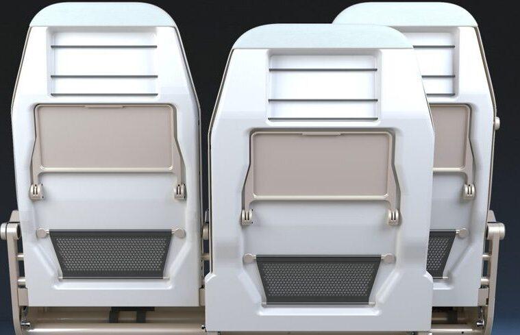 Side Slip economy class seat
